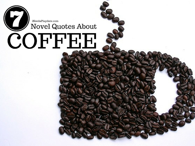 7 Novel Quotes About Coffee from Authors and Writers  @mryjhnsn