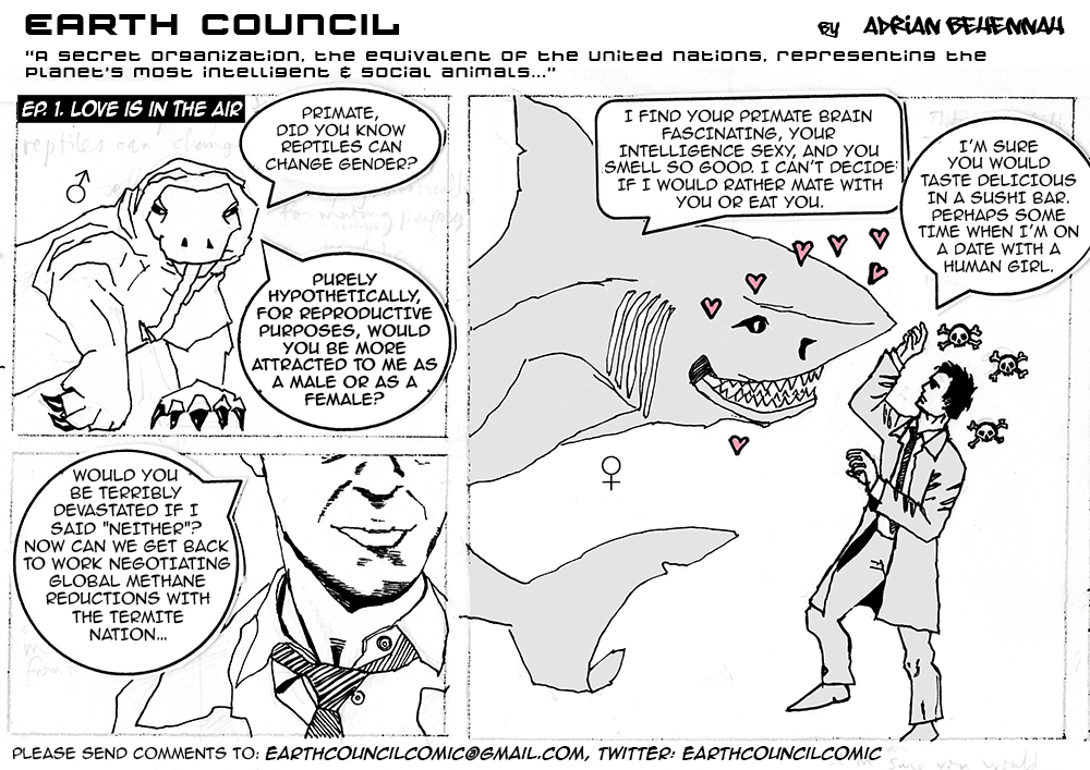 Earth Council Episode 1. LOVE IS IN THE AIR