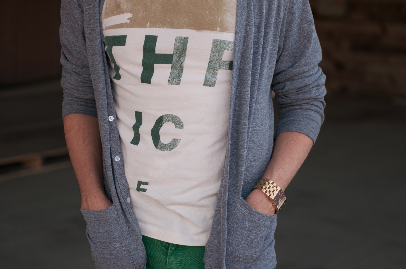 thrice, american apparel poly blend cardigan, rayban wayferer, css shorts, mens ootd, mens style blog, mens fashion blog