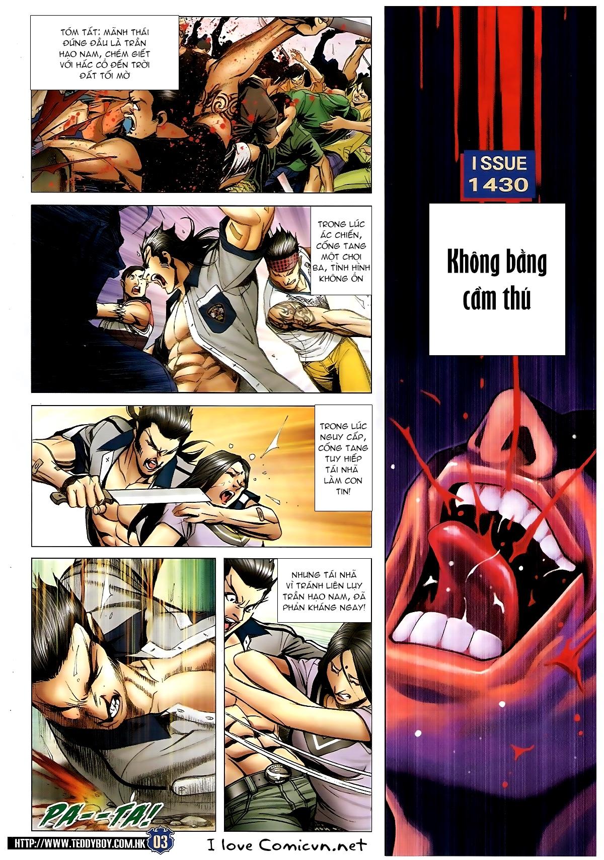 Người Trong Giang Hồ Chapter 1430 - Hamtruyen.vn