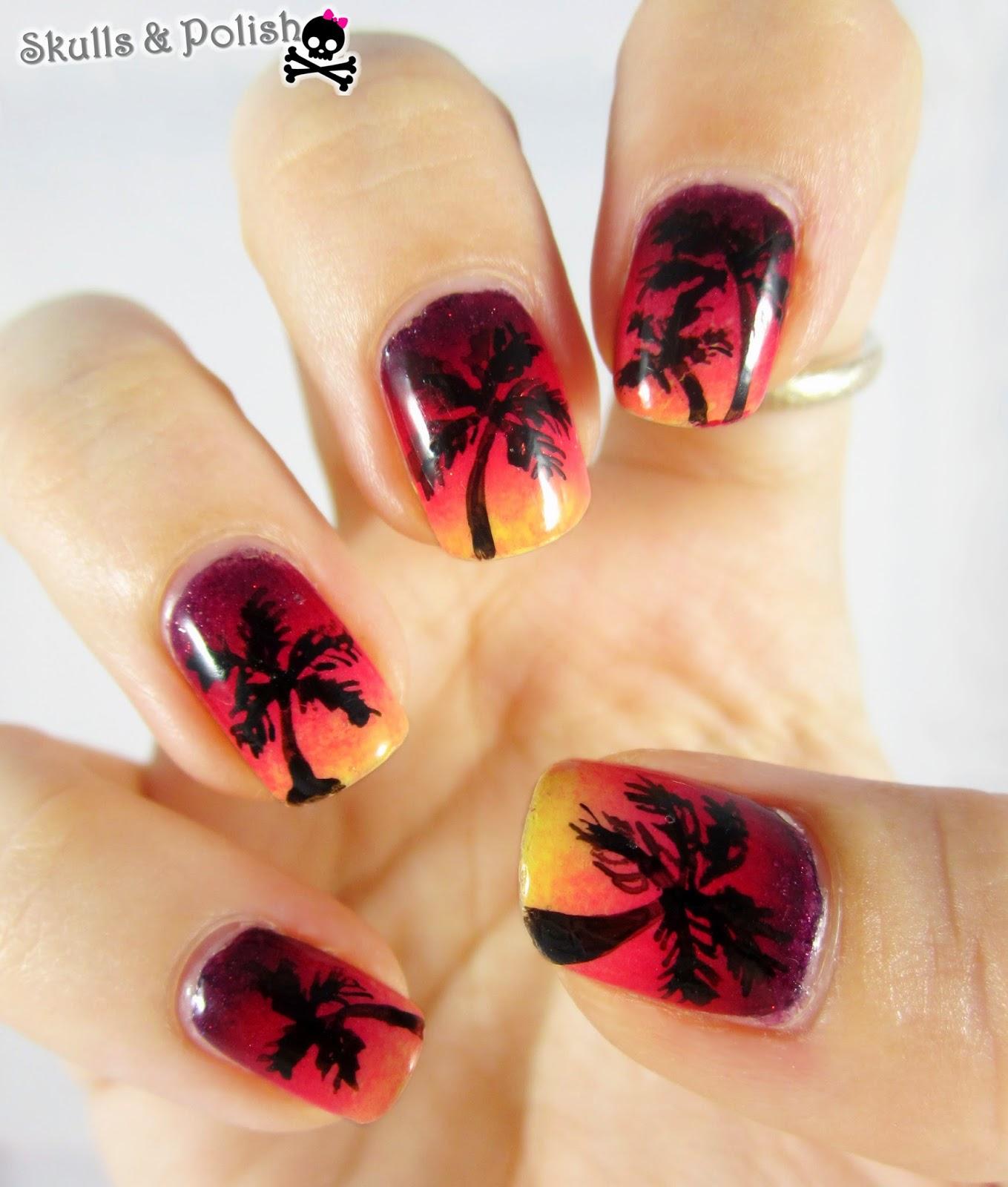 sunset_gradient_nails_dégradé
