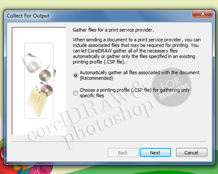 """Fungsi Penting """"Collect For Output"""" dalam Corel Draw X5"""