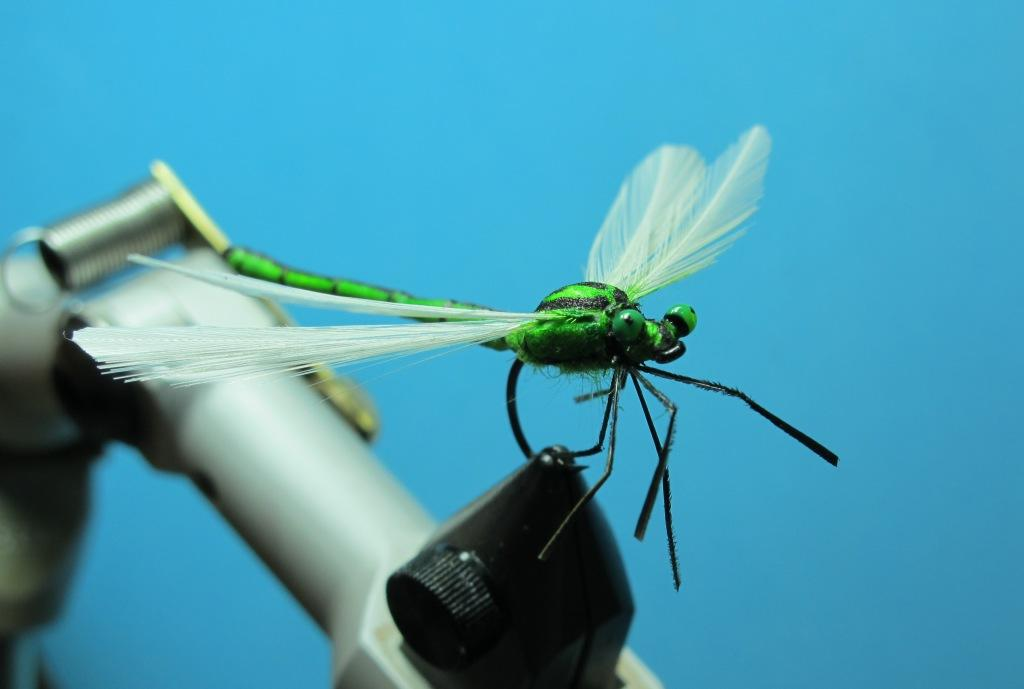 Fly tying nation foamular of spent wing damselfly for Fly fishing tying