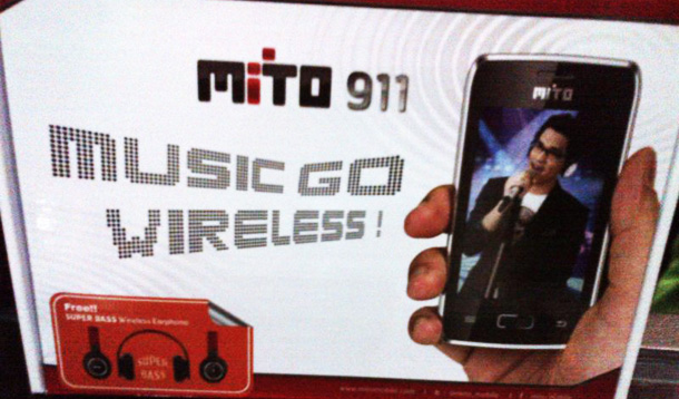 Mito 911 HP Music Go Wireless Harga Murah