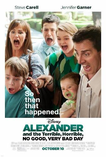 Alexander and the Terrible Horrible: No Good Very Bad Day (BRRip 720p Dual Latino / Ingles) (2014)