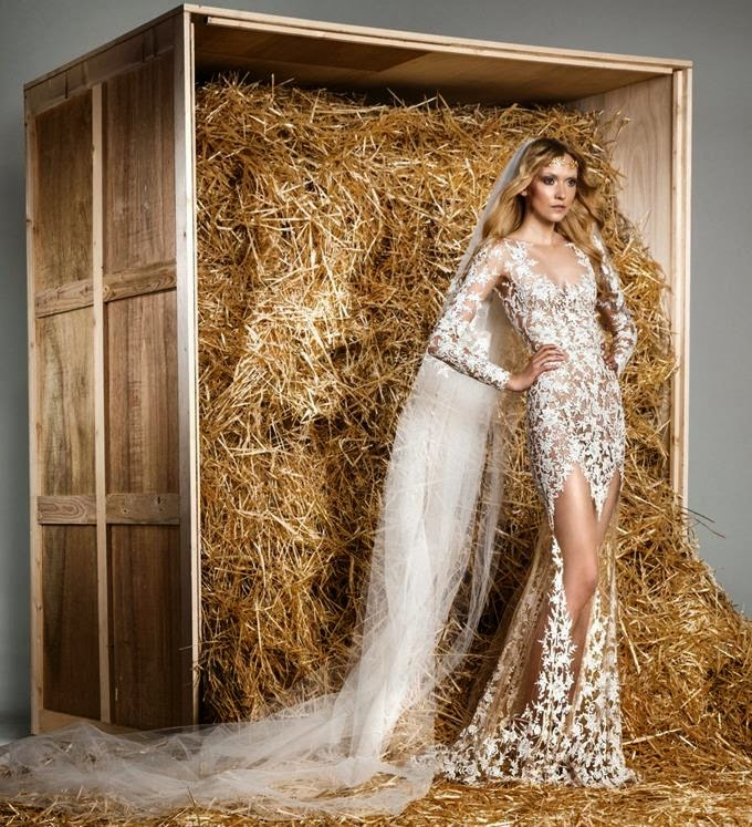 Zuhair Murad Wedding Dresses 2015 Fall: Zuhair Murad Spring 2015 Bridal Collection Lookbook
