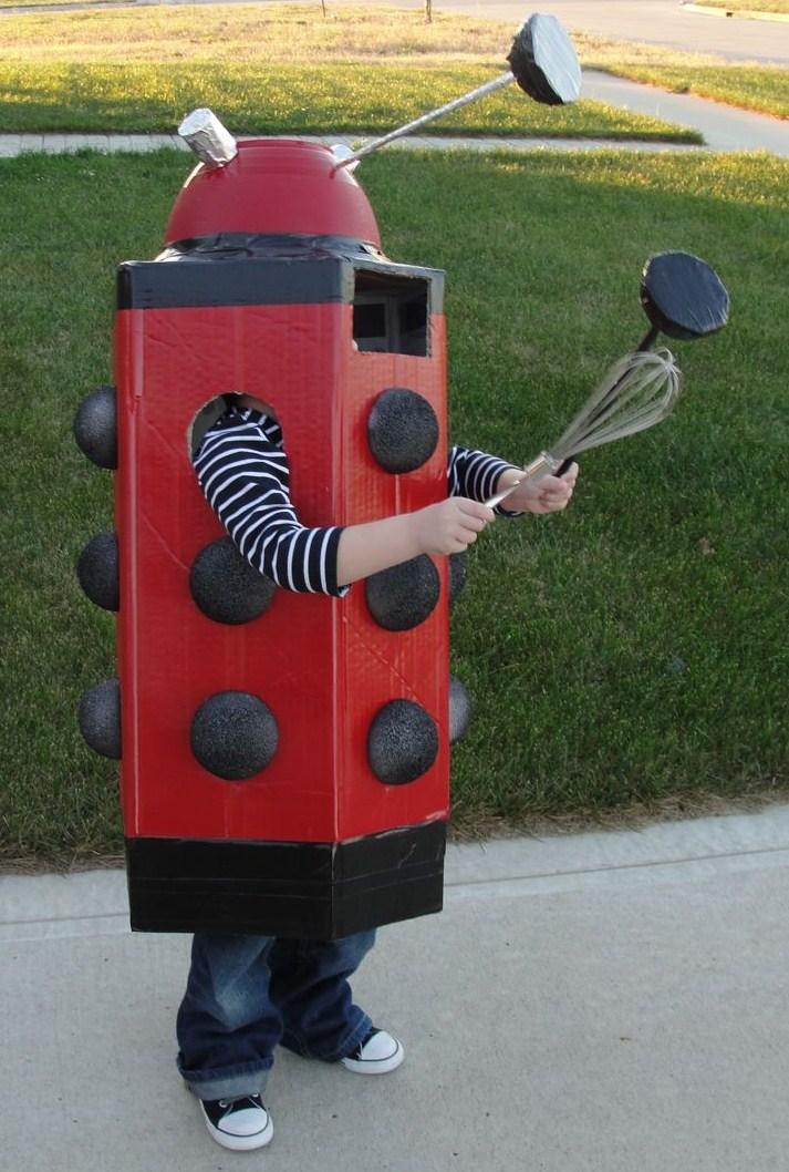 One Half World How To Make A Dalek Costume