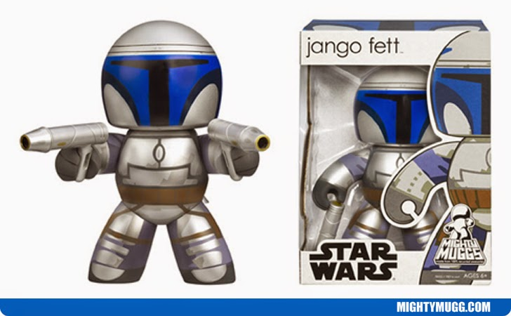 Jango Fett Star Wars Mighty Muggs Wave 3