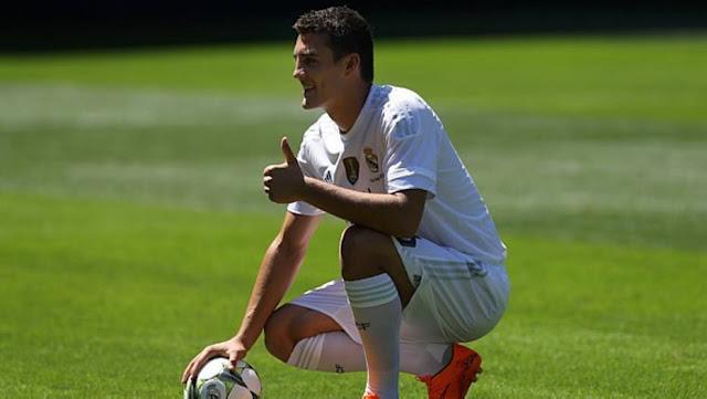 Com a camisa 16, Kovacic é apresentado no Real Madrid. O croata deixou a Inter de Milão por 35 milhões de euros (R$ 136,38 milhões) - Francisco Seco/ AP