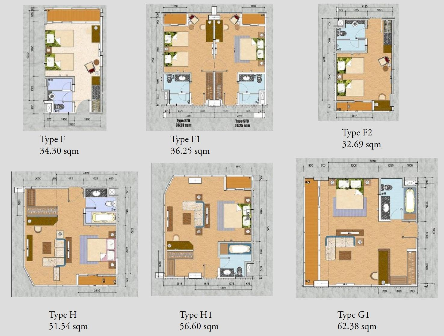 Condotel tamansari the hive apartment tamansari for Design hotel bintang 3
