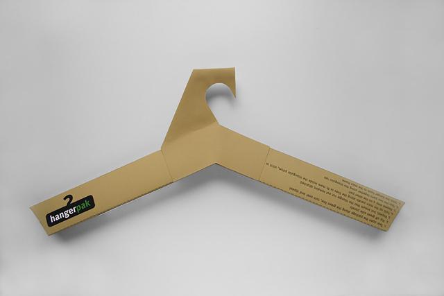 Hangerpak: envelope que vira cabide