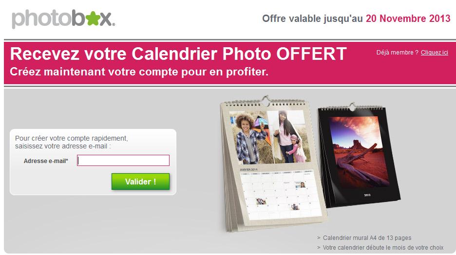 Les bonnes affaires de lacuna calendrier personnalis e - Code promo photobox frais de port gratuit ...
