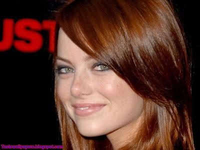 Emma Stone Hollywood Actress  Desktop Wallpaper