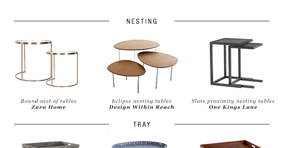 10 side table types for every living room style | My Paradissi