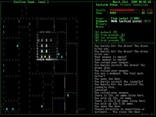 Aliens Roguelike gameplay Screenshot