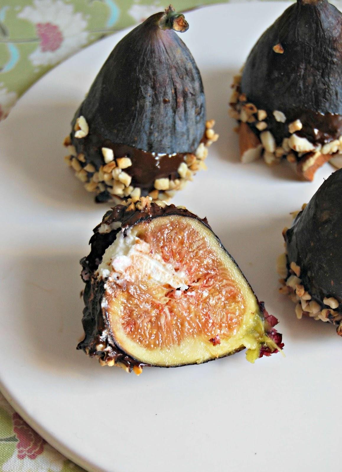 figues fourr 233 es au mascarpone chocolat et amandes blogs de cuisine