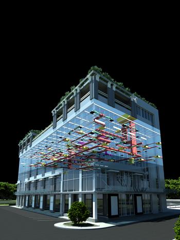 Autodesk Robot Structural Analysis Professional 2014 RevitMEP-Building-2