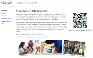 Google RISE Awards 2013 - die offizielle Website