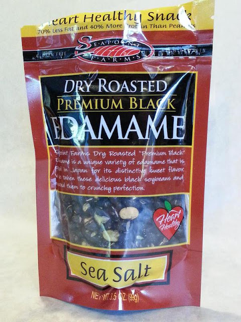 Dry Roasted Edamame Premium Black Sea Salt