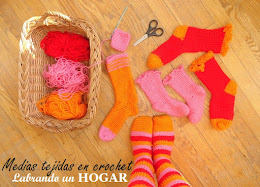 ¡Medias tejidas en crochet! a la medida.