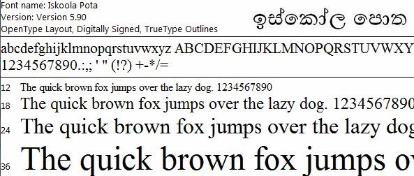 Sinhala Font Pack New - ( 14 Font )