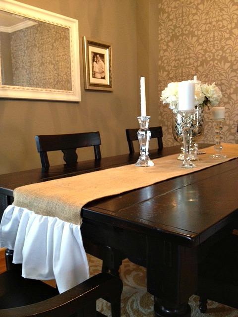 Rachel 39 S Nest New Runner For The Dining Room Table