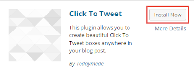 click to tweet in wordpress