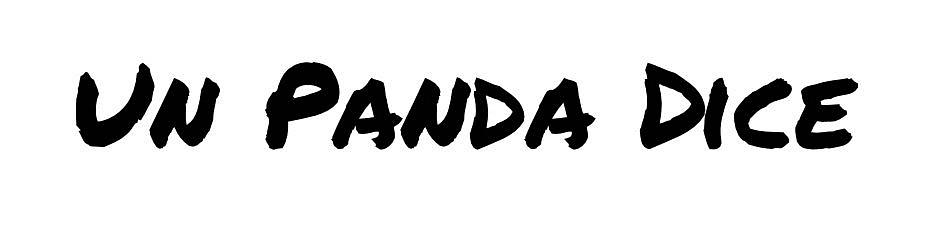 un panda dice