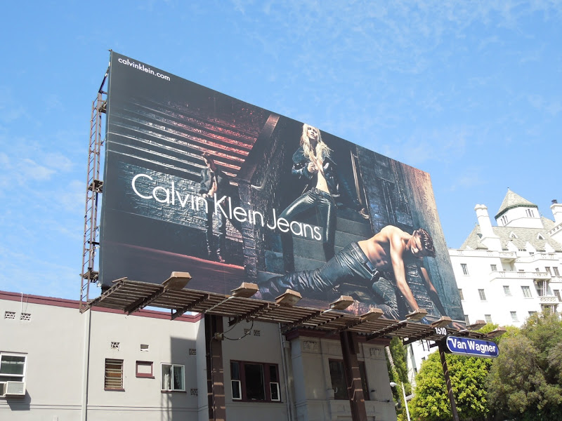 Calvin Klein Jeans billboard FW 2012