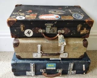 Sponsored item of the week: Vintage Suitcases