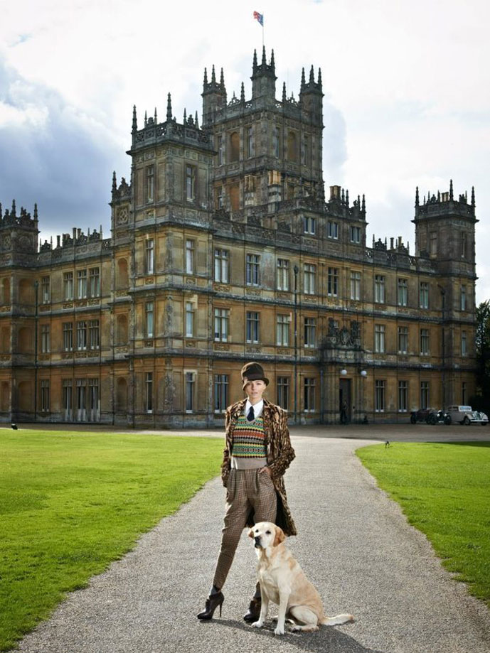 photos of Ralph Laurent at Downton Abbey collection by Chris Allerton