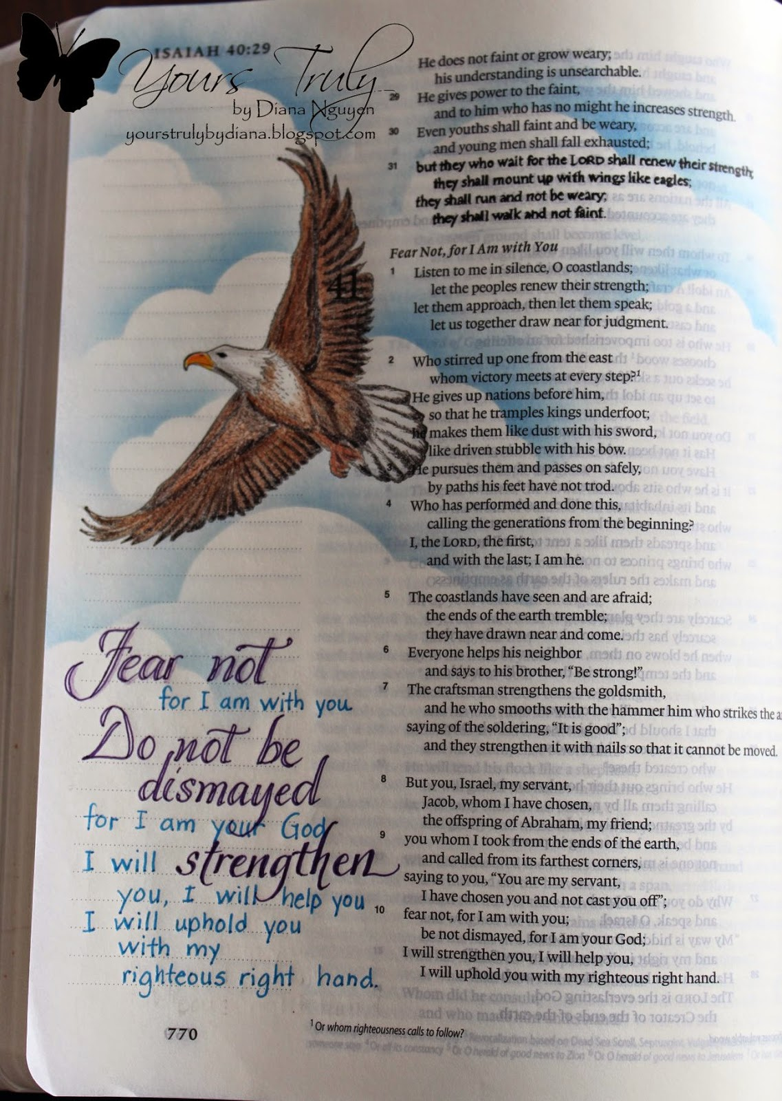 Diana Nguyen, Our Daily Bread Designs, bible art journaling, illustrated faith