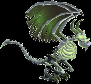 imagen del dragon bone_hueso adulto