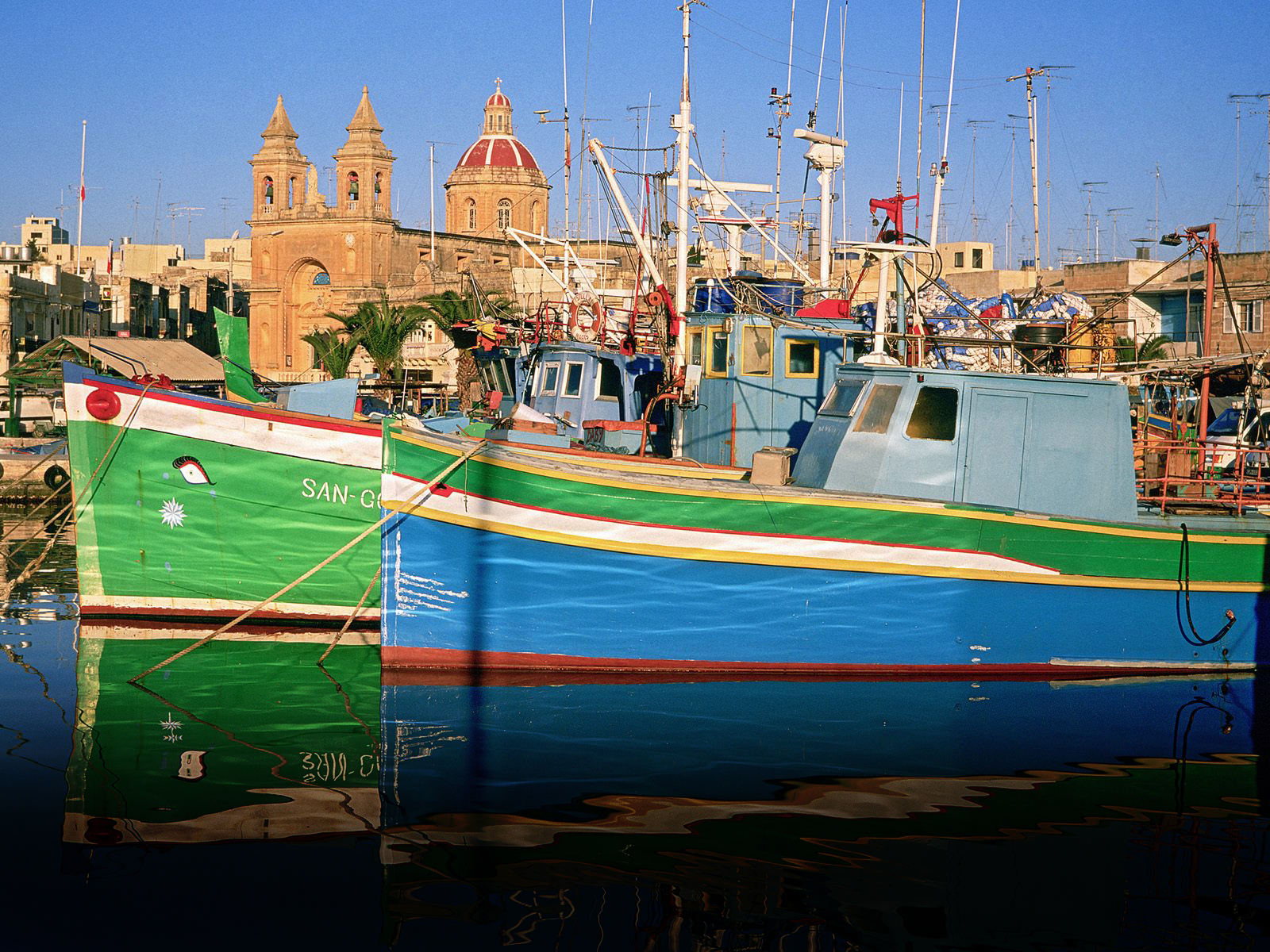 Обои Мальта, malta xlokk, malta, Залив, Marsaxlok, marsaxlokk bay, марсашлокк. Города foto 9