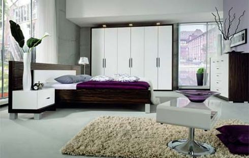 12 ultra moderne styles chambres coucher design interieur france. Black Bedroom Furniture Sets. Home Design Ideas