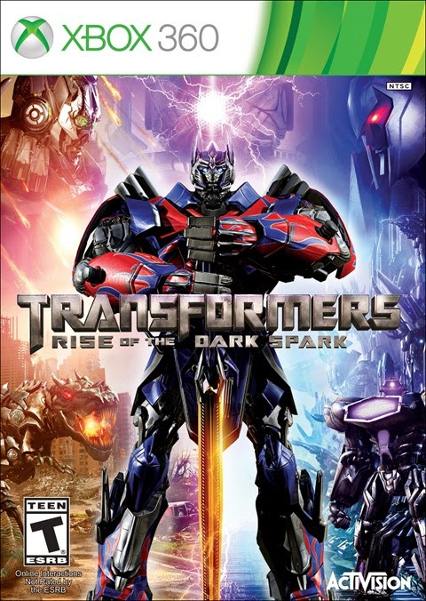 capa Download   Jogo Transformers Rise of The Dark Spark XBOX360 COMPLEX (2014)