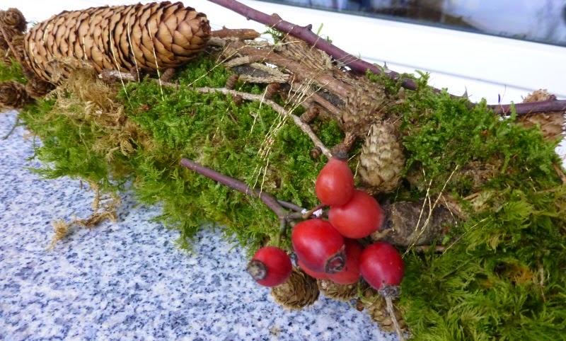 Coniglia bloggt...: Deko aus dem Wald