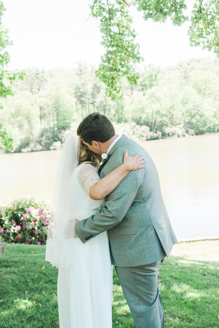 Garden Themed Outdoor Wedding at Chetola Resort in Blowing Rock, NC