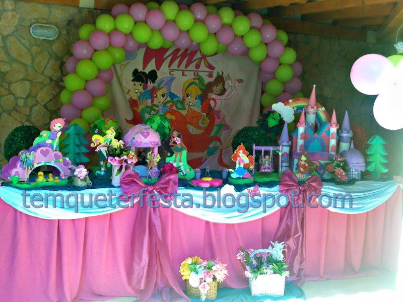 decoracao festa winx:TEM QUE TER FESTA: DECORAÇÃO WINX