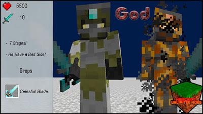 XtraCraft Mod god