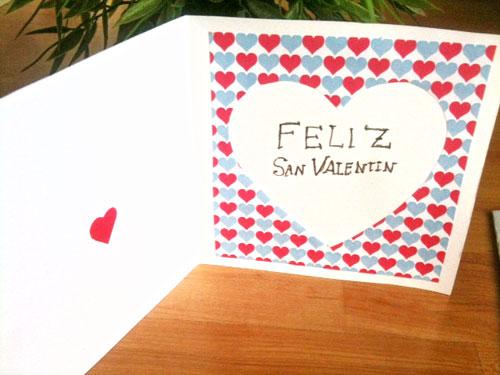 tarjetas de amor caseras