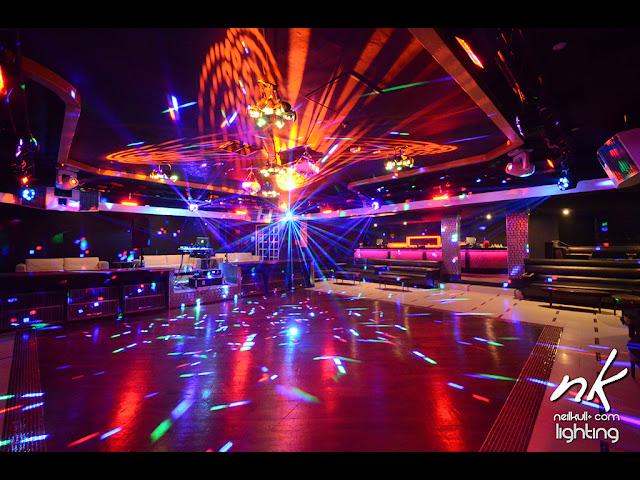 TRU night club Las Vegas, lighting, GC Pro