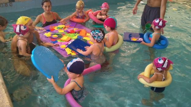 Nadar con beb s y ni os peque os - Materiales para piscinas ...