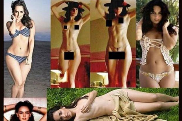 Laura Lion posa desnuda y abierta de piernas
