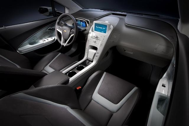 Interior shot of 2011 Chevrolet Volt