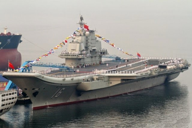 Los 10 buques de guerra más grandes del mundo.