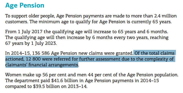 how to get aged pension in australia