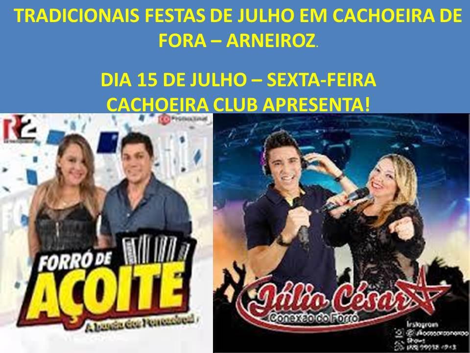 Cachoeira Club Apresenta. Contato: 9.97105009.