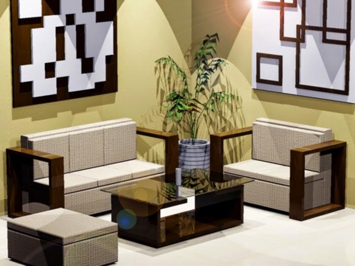 Gambar ruang tamu minimalis 3