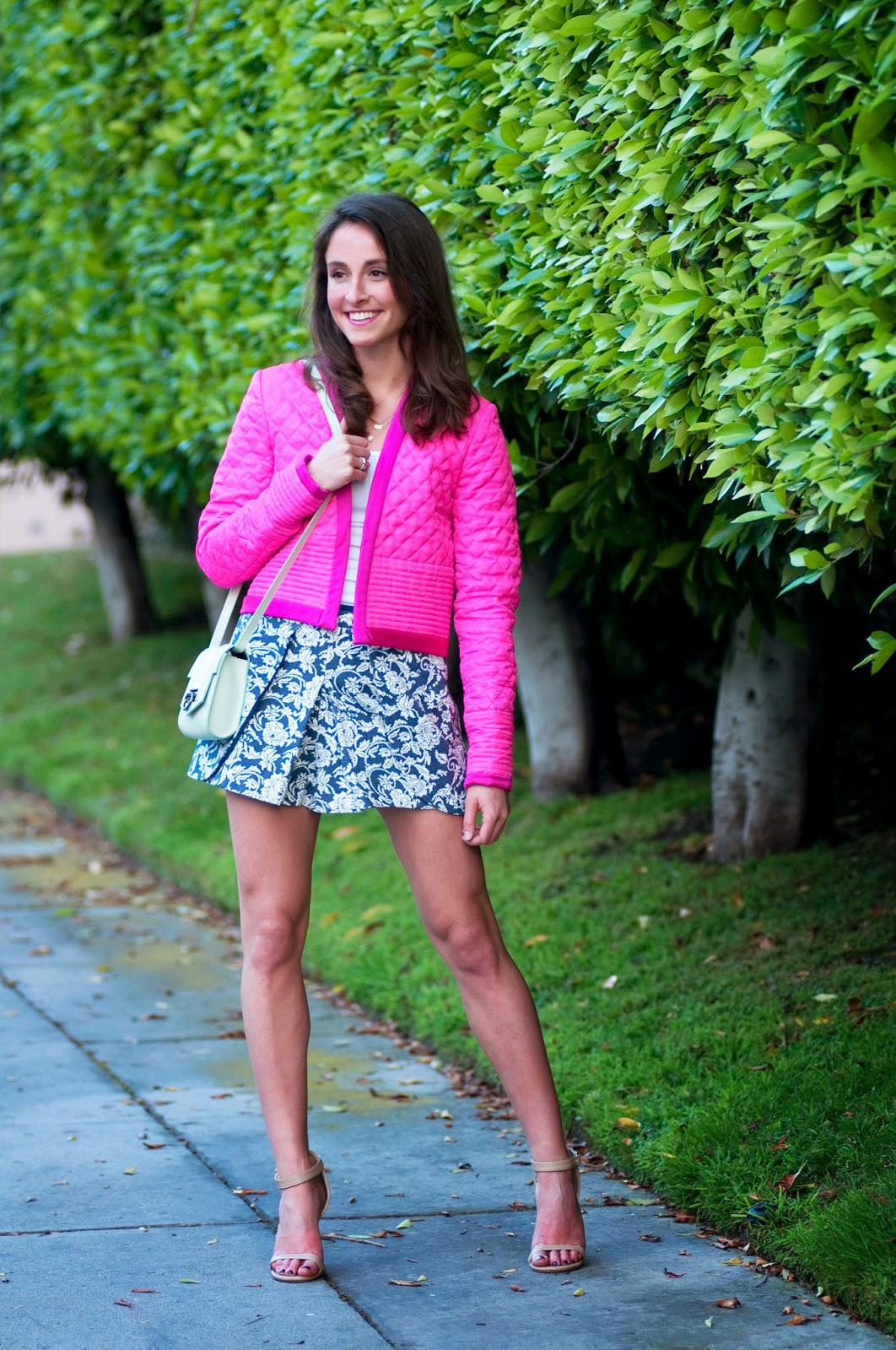 hot-pink-isabel-marant-jacket-with-floral-skirt